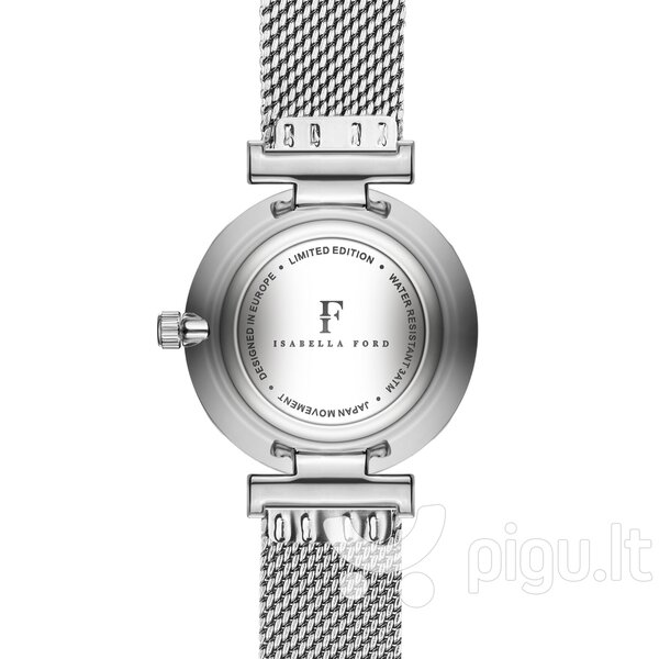 Moteriškas laikrodis ISABELLA FORD FB9-B014S pigiau