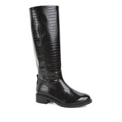 Ilgaauliai batai moterims Tamaris, juodi kaina ir informacija | Aulinukai, ilgaauliai batai moterims | pigu.lt