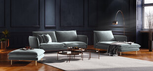 Minkštų baldų komplektas Cosmopolitan Design Florence, šviesiai pilkas kaina ir informacija | Minkštų baldų komplektai | pigu.lt