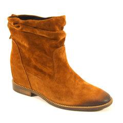 Aulinukai moterims Nessi, rudi kaina ir informacija | Aulinukai, ilgaauliai batai moterims | pigu.lt