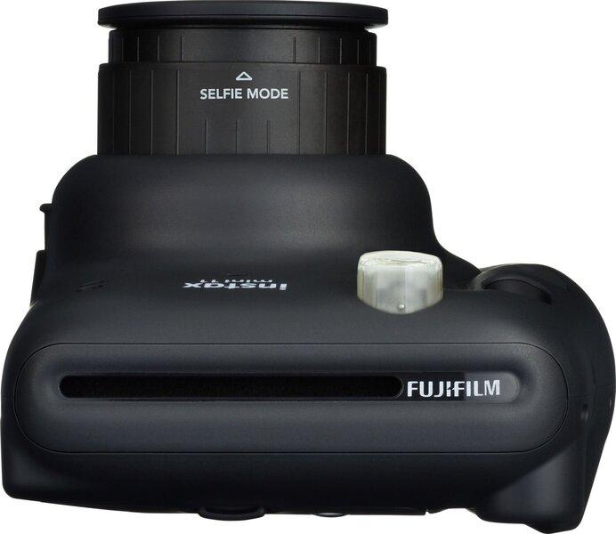 Fujifilm Instax Mini 11 (Charcoal Gray) + FUJIFILM Instax Mini Film (Glossy) (Color) 20 vnt. fotolapelių