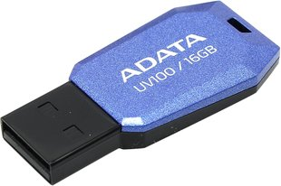 USB карта памяти A-DATA DashDrive UV100 16GB синяя