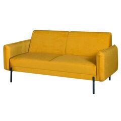 Sofa Selsey Laurienne, geltona kaina ir informacija | Sofos | pigu.lt