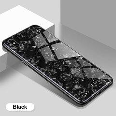 Dėklas Marble Samsung A31 juodas kaina ir informacija | Telefono dėklai | pigu.lt