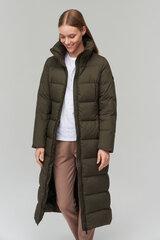 Paltas moterims Audimas, chaki kaina ir informacija | Paltai moterims | pigu.lt