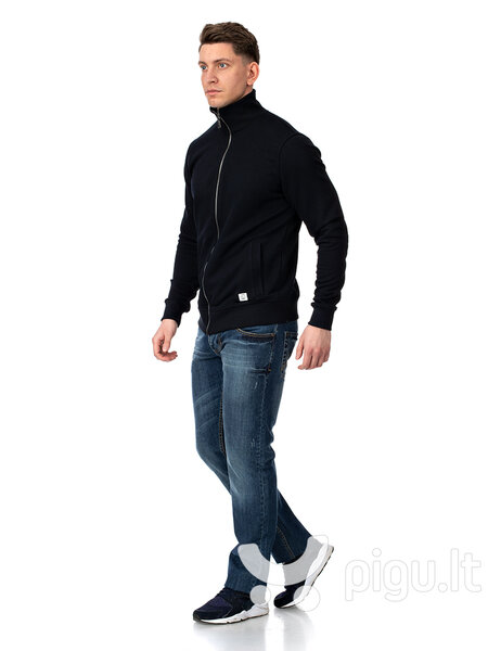 Džemperis vyrams Street Industries tamsia mėlynas kaina