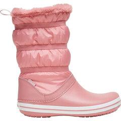 Aulinukai moterims Crocs™ Crocband Boot Women's, rožiniai kaina ir informacija | Aulinukai, ilgaauliai batai moterims | pigu.lt