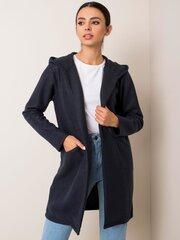 Paltas moterims, tamsiai mėlynas kaina ir informacija | Paltai moterims | pigu.lt