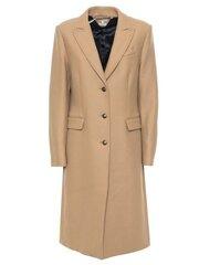 Paltas moterims Tommy Hilfiger, rudas kaina ir informacija | Paltai moterims | pigu.lt