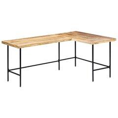 Rašomasis stalas, 120x60x76 cm, rudas kaina ir informacija | Kompiuteriniai, rašomieji stalai | pigu.lt