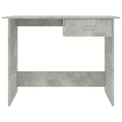 Rašomasis stalas, 100x50x76cm, betono kaina ir informacija | Kompiuteriniai, rašomieji stalai | pigu.lt