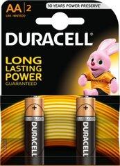 Elementai Duracell AA LR06 2vnt kaina ir informacija | Elementai | pigu.lt