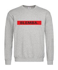 Džemperis moterims Blemba, pilka kaina ir informacija | Džemperiai moterims | pigu.lt