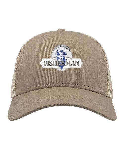 Kepurė su snapeliu vyrams Fisherman, ruda kaina ir informacija | Vyriški šalikai, kepurės, pirštinės | pigu.lt