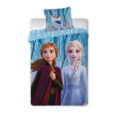 Vaikiškas patalynės komplektas Frozen 160x200, 2 dalių kaina ir informacija | Patalynė kūdikiams, vaikams | pigu.lt