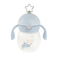 Tritano gertuvė-puodelis Smiki 12 mėn.+, 280 ml, 6481265, mėlynas kaina ir informacija | Buteliukai kūdikiams ir jų priedai | pigu.lt