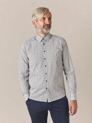 Slim-fit marškiniai vyrams Baltman, mėlyni kaina ir informacija | Slim-fit marškiniai vyrams Baltman, mėlyni | pigu.lt