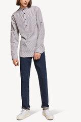 Marškiniai moterims Monton slim-fit, pilka kaina ir informacija | Marškiniai moterims Monton slim-fit, pilka | pigu.lt