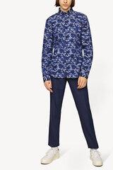 Marškiniai Monton athletic-fit, mėlyni kaina ir informacija | Marškiniai Monton athletic-fit, mėlyni | pigu.lt