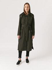 Paltas moterims Monton, žalias kaina ir informacija | Paltai moterims | pigu.lt