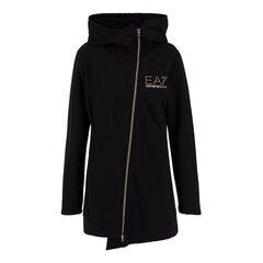 Sportinis džemperis moterims EA7 TRAINING FUNDAMENTAL 6HTM27 TJ9FZ 1200 M, juodas kaina ir informacija | Sportinė apranga moterims | pigu.lt