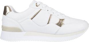 Laisvalaikio batai Tommy Hilfiger TH Interlock City Sneaker, balti kaina ir informacija | Sportiniai bateliai, kedai moterims | pigu.lt
