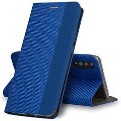 SENSITIVE book dėklas telefonui skirtas Samsung Galaxy M31S, mėlyna kaina ir informacija | Telefono dėklai | pigu.lt