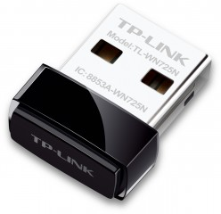 Bevielio tinklo adapteris TP-Link TL-WN725N, 802.11b/g/n, 150Mbps