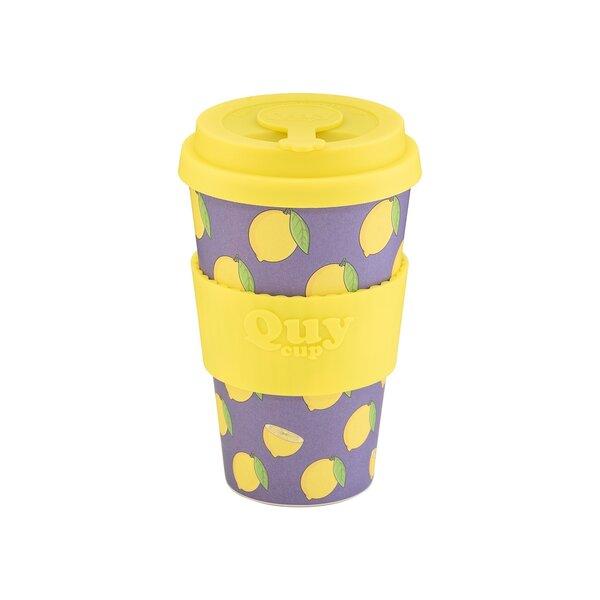 Bambukinis puodelis QuyCup, 400 ml