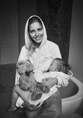 Džemperis moterims Mama, oversize kaina ir informacija | Džemperiai moterims | pigu.lt