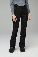 Slidinėjimo kelnės moterims Audimas, juodos kaina ir informacija | Slidinėjimo apranga moterims | pigu.lt