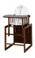 Maitinimo kėdutė Klupš Agnieszka III Safari, 102 cm kaina ir informacija | Maitinimo kėdutės | pigu.lt
