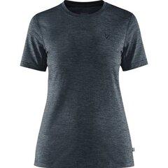 Marškinėliai moterims Fjallraven Abisko Day W, mėlyni kaina ir informacija | Marškinėliai moterims | pigu.lt
