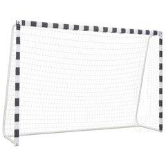 Futbolo vartai, 300x200x90 cm, metalas kaina ir informacija | Futbolas | pigu.lt