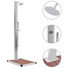 Lauko dušas su padėklu kaina ir informacija | Lauko dušas su padėklu | pigu.lt