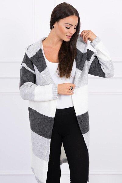 Megztinis moterims, pilkas