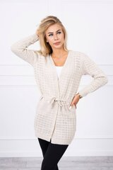 Megztinis moterims, smėlio spalvos kaina ir informacija | Megztiniai moterims | pigu.lt