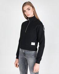 Džemperis moterims Calvin Klein Jeans, juodas kaina ir informacija | Džemperiai moterims | pigu.lt