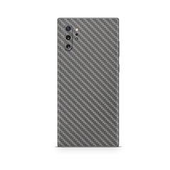 Korpuso apsauginė plėvelė- skin, Samsung Galaxy Note 10 Plus, Carbon grey, Full Wrap Back kaina ir informacija | Telefono dėklai | pigu.lt