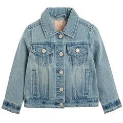 Cool Club džinsinė striukė mergaitėms, CJG2221475 kaina ir informacija | Striukės, paltai mergaitėms | pigu.lt
