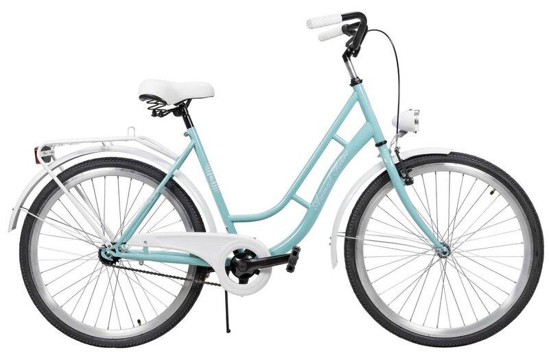 """Miesto dviratis AZIMUT Retro 26"""" 2021, turkio"""