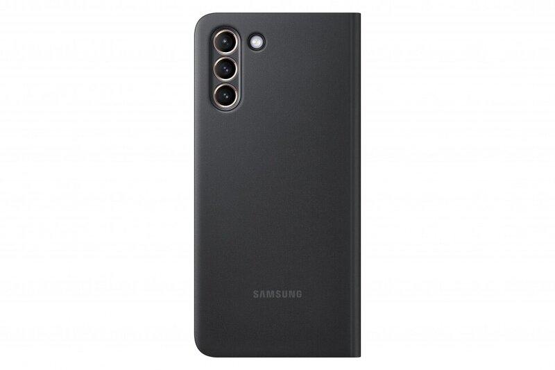 Samsung Smart Clear View dėklas skirtas Samsung Galaxy S21 Plus, black kaina