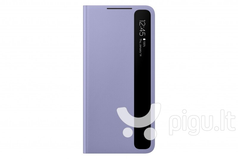 Samsung Smart Clear View dėklas skirtas Samsung Galaxy S21 Plus, violet