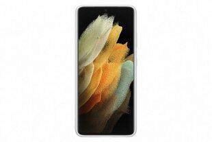 Samsung Silicone Cover skirtas Samsung Galaxy S21 Ultra, light gray kaina ir informacija | Telefono dėklai | pigu.lt