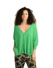Moteriškas kardiganas ORFEO Raida, žalias kaina ir informacija | Džemperiai moterims | pigu.lt
