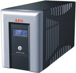 AEG Protect A 1400 kaina ir informacija | Nepertraukiamo maitinimo šaltiniai (UPS) | pigu.lt