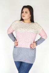 Megztinis moterims Meta Fashion, baltas kaina ir informacija | Megztiniai moterims | pigu.lt