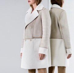Dvipusis aviator stiliaus puspaltis moterims Paquito kaina ir informacija | Paltai moterims | pigu.lt