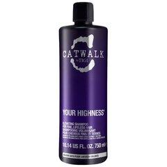 Purinamasis šampūnas Tigi Catwalk Your Highness Elevating 750 ml