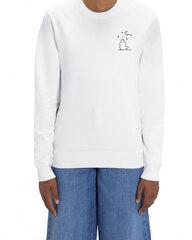 Džemperis unisex Dreamer, baltas kaina ir informacija | Džemperiai moterims | pigu.lt